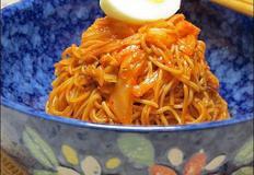 새콤매콤한 쓴메밀비빔국수