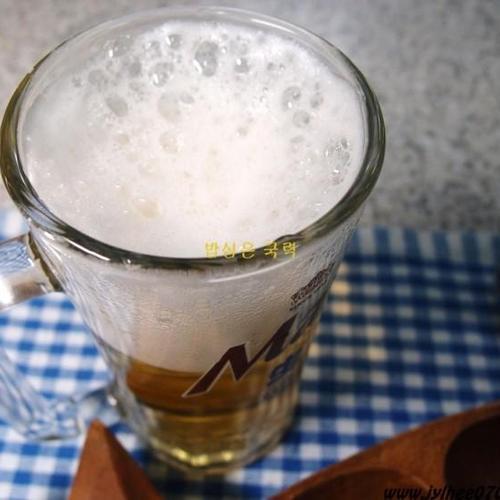 크림 맥주 만들기 우유 거품기로 만드는 크림 맥주