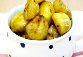 [아이간식]제철요리 맛밤만들기,밤조림만들기
