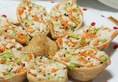 [다이어트 식단] 새콤달콤 맛있게 단백질 섭취, 닭가슴살유부초밥