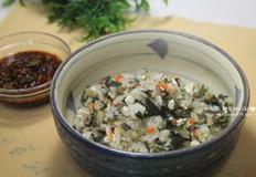 취나물밥 만들기