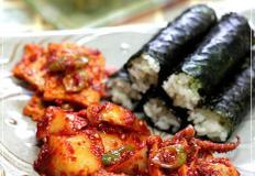 통영의 대표음식 충무김밥