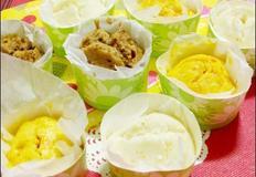 핫케익가루로 간단히 만든 찜케익 (우유찜케익, 당근찜케익, 모카찜케익)