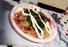 #감자채를 이용한 한국식 오꼬노미야끼 만들기