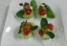 와인안주 오이보트 샐러드