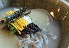 블루베리 현미 쌀칼국수