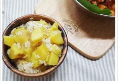 [고구마요리]달콤한 고구마밥 만들기 고구마 압력밥솥