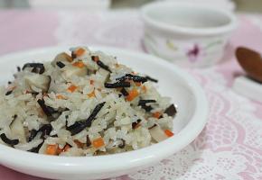 톳 표고버섯 영양밥