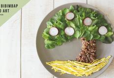 (트리 비빔밥) 나무 모양의 이색 비빔밥 만들기! 창의 요리, 어린이 푸드아트, 슈퍼푸드 비빔밥, 아이와 함께 만드