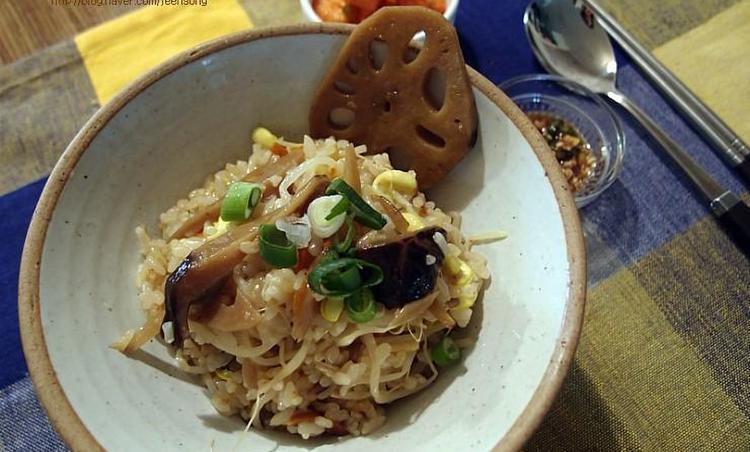 콩나물밥:채소조림으로 그레이드 업!
