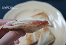 따끈해서 더 맛있는 햄치즈핫샌드위치