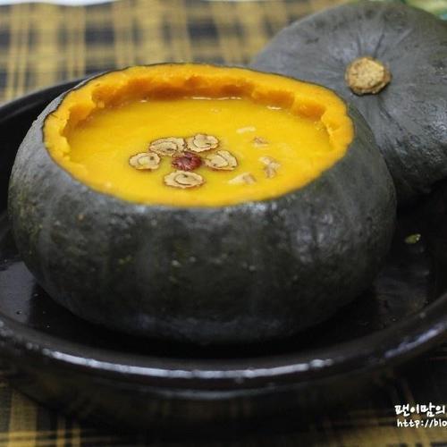 단호박죽 만드는 방법 *~간단요리 단호박요리 건강식으로 좋더라 ~^^*