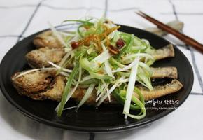 중국식 도미찜처럼 만들어본 굴비튀김