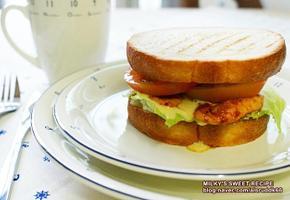중화식 바비큐 샌드위치