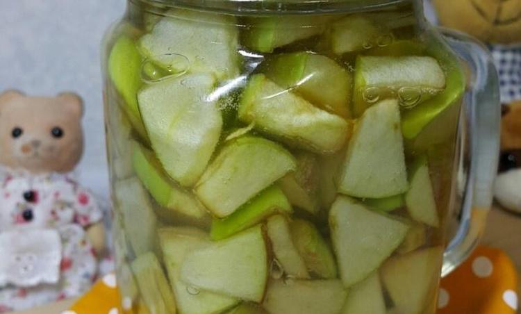 맛없는 아오리사과를 맛있는 아오리사과청으로..(수제청만들기)