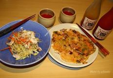 막걸리도 특별하게 즐겨보자, 오징어김치전 & 콩나물오징어냉채