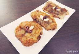 냉동실인절미활용1 , 인절미 호떡 만들기