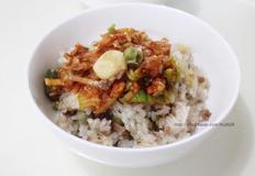 건강에 좋은 마늘밥