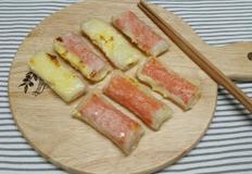 초 초 간단 치즈&크래미 월남쌈 ~*