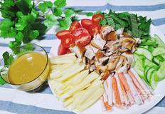 먹다남은 족발로 새로운 요리가 탄생~냉채족발 만들기!