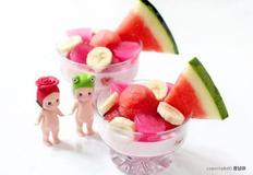 수박우유화채