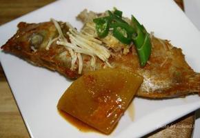 부드러운 생선살이 맛있는 적어조림