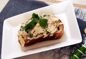 #핑거푸드로도 좋은 참치에그타파스만들기 #참치랑 삶은달걀, 그리고 참나물을 이용한 한입 식전메뉴!! 참치에그타파스!
