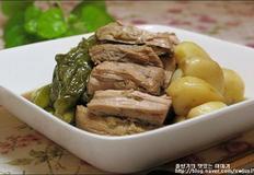짭조름한 밑반찬 돼지고기 장조림