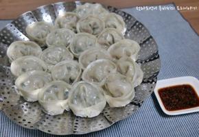 고기만두 김치만두속만들기와 손만두보관법 설날음식