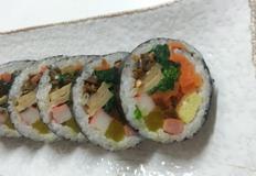 속이 꽉 찬 김밥 만들기