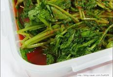 국수말이용 수박열무 물김치
