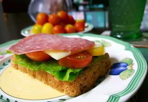 살라미 샌드위치