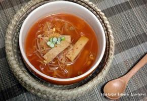 여름엔 새우젓을 넣은 콩나물어묵김치국 이열치열 국요리