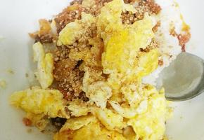 버터장조림 계란비빔밥