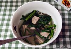 부산명물 돼지국밥만들기