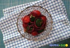 양파피클과 양파피클샐러드:복분자식초로 만들었어요