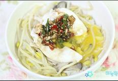 콩나물 버섯밥