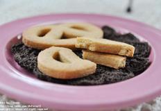 프레즐모양의 로투스 쿠키