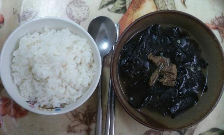 생일음식 / 소고기미역국 끓이기