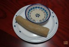 현미가래떡 만들기