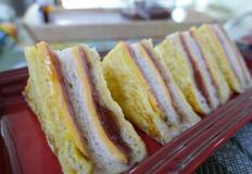 몬테크리스토 샌드위치 만들기 / 햄치즈 샌드위치