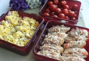 게살유부초밥&달걀유부초밥&꼬맘초밥