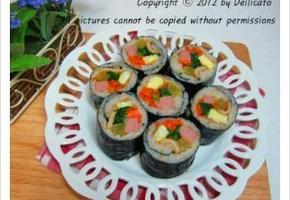 햄 김밥 만드는법