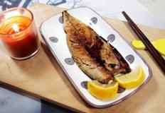 #비린내없이 고등어굽기 #청주와 레몬을 이용해서 고등어의 비린맛을 잡자!!! 바싹 구워야 더 맛있다~~~