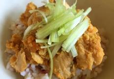 초간단 요리 연어캔 덮밥