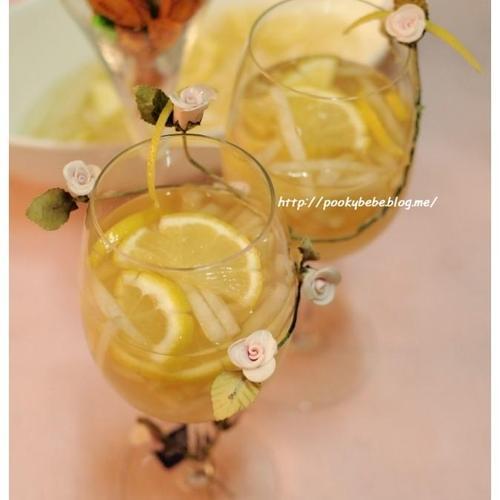 레몬 배화채 만들기