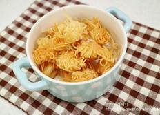 ??아이간식만들기 - 남은국수로 국수튀김 과자