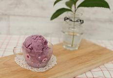 블루베리 요거트 아이스크림