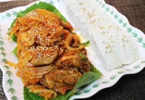 두부김치, 제육김치볶음 - 집밥 백선생 백종원 레시피