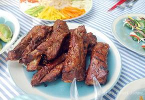돼지갈비 바베큐